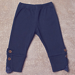 Jak & Peppar Wee One Romy Leggings - Navy Bean (Toddler Sizes)