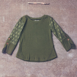 Jak & Peppar Wee One Romy Henley - Olive (Toddler Sizes)
