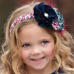 Persnickety Double Dutch Quinn Headband - Blue