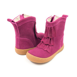 Livie & Luca Pepper Boots - Mulberry Suede