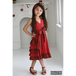 Mustard Pie Enchanted Enchanted Dress - Holly Berry Plaid