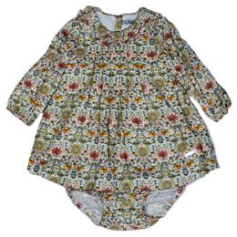 Mayoral 2pc Viella Dress & Bloomer Set - Rose