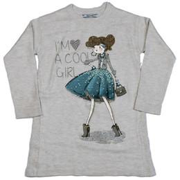 Mayoral Cool Girl Knit Dress - Almond