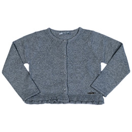 Mayoral Knit Cardigan Sweater - Chromium