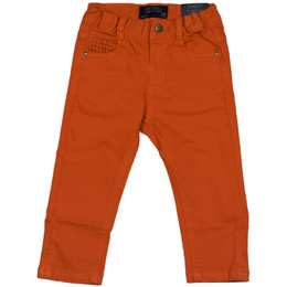 Mayoral Elastane Twill Trousers - Tango
