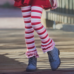 Persnickety Candy Cane Holiday Leighton Legging - Stripe