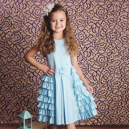 Lemon Loves Lime My Fair Lady Dress - Blue