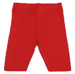 Lemon Loves Lime Bike Shorts - Red
