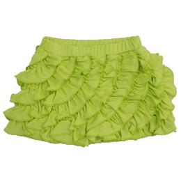 Lemon Loves Lime Ruffle Skort - Wild Lime