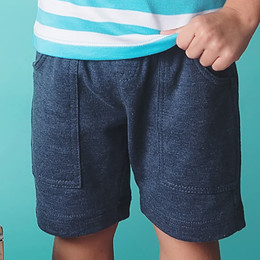 Lemon Loves Lime / Gnu Brand Cargo Short - Dark Indigo