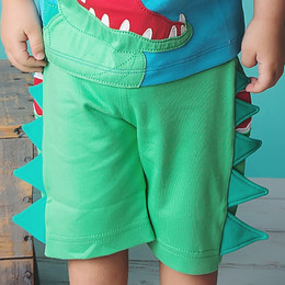 Lemon Loves Lime / Gnu Brand Croc Bite Short - Green