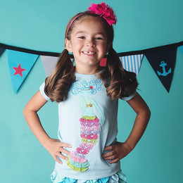 Lemon Loves Lime Mermaid Dream Tee - Blue