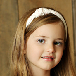 Mustard Pie Sugar Blossom Gidget Headband - Dot