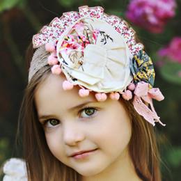 Mustard Pie Sugar Blossom Colette Headband - Beige