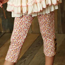 Mustard Pie Sugar Blossom Sargent Leggings - Floral