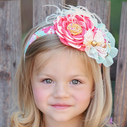 Persnickety Pocket Full Of Posies Cosette Headband