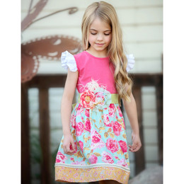 Persnickety Pocket Full Of Posies Erika Dress