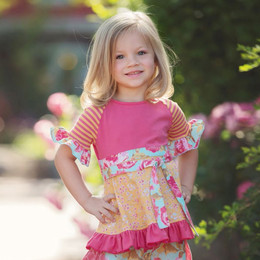 Persnickety Pocket Full Of Posies Sugar Tunic