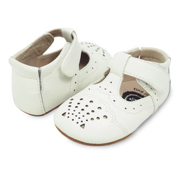 Livie & Luca Cora Baby Shoes - Milk
