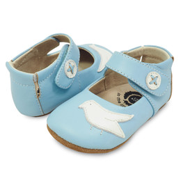 Livie & Luca Pio Pio Baby Shoes - Powder Blue