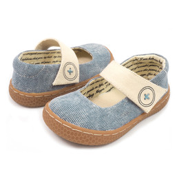 Livie & Luca Carta II Shoes - Jean Blue