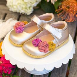 Livie & Luca Dahlia Shoes - Metallic Gold