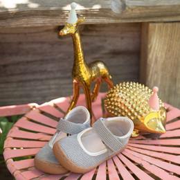 Livie & Luca Gemma Shoes - Gray Sparkle