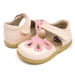 Livie & Luca Petal Shoes - Blush Patent