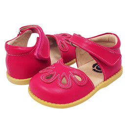 Livie & Luca Petal Shoes - Hot Pink