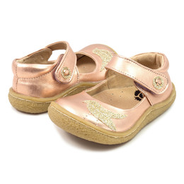 Livie & Luca Pio Pio Shoes - Rose Gold Metallic