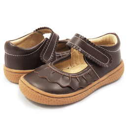 Livie & Luca Ruche Shoes - Mocha
