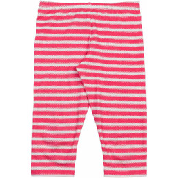 Paper Wings Pink Stripe Classic 3/4 Legging