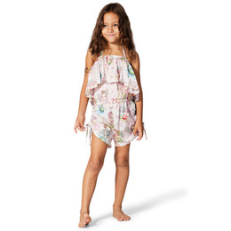 Paper Wings Flower Fairies Drawstring Romper