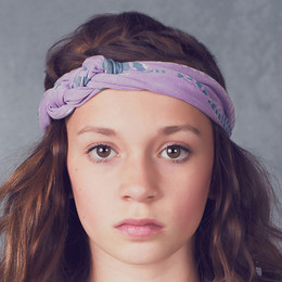 Jak & Peppar Starlight Wanderer Chella Braided Headband - Dazed Lavender