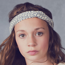 Jak & Peppar Starlight Wanderer Chella Braided Headband - Navy