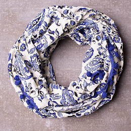 Jak & Peppar Starlight Wanderer Like The Wind Scarf - Navy (Del 1)