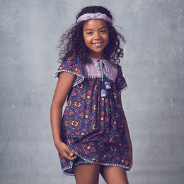 Jak & Peppar Starlight Wanderer Juniper Dress - Orchid (Del 1)