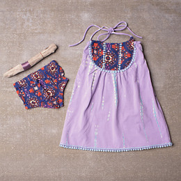Jak & Peppar Starlight Wanderer Gypsy Dress Set - Dazed Lavender (Del 1)
