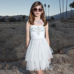 Tutu Du Monde Desert Daze Picture Perfect Tutu Dress - Whisper