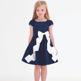 Biscotti Rose Reflection Solid Bow Dress