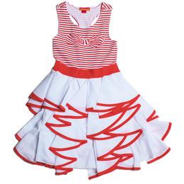 Kate Mack Bows Ahoy Maxi Dress