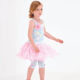 Kate Mack Butterfly Sky Drop Waist Dress