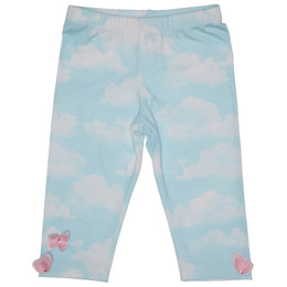 Kate Mack Butterfly Sky Print Legging