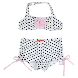 Kate Mack Polka Rose 2pc Boy Short Swimsuit