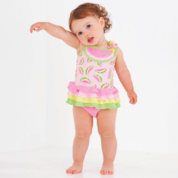 Kate Mack Wild Watermelon 2pc Swim Tankini