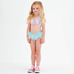 Kate Mack Butterfly Wishes 2pc Skirted Swim Bikini