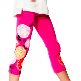 Deux Par Deux So Happy Leggings - Pink