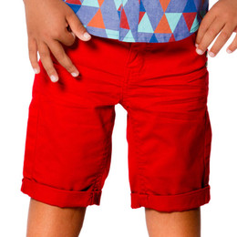 Deux Par Deux Le Grand Bermuda Shorts - Red