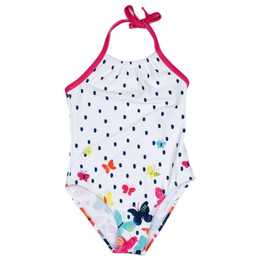 Deux Par Deux Coast To Coast 1pc Swimsuit - Butterflies