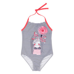 Deux Par Deux Coast To Coast 1pc Swimsuit - Stripes